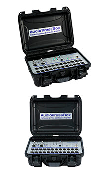 AudioPressBox-224 C, Amp Mics