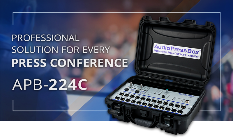 APB-224 C professional solution for every press event