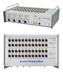 AudioPressBox-448 SB, Amp Mics