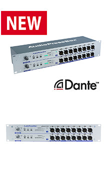 APB-D216 R-D - first Dante enabled press box in the world