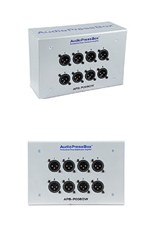 AudioPressBox-P008 AI - AB, Audiosplitter