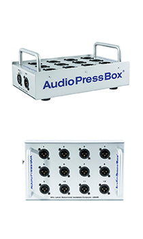 AudioPressBox-P112 SB, Amp Mics