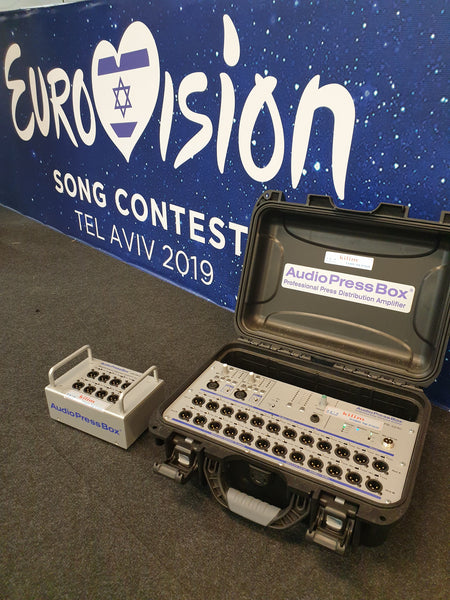 AudioPressBox at Eurovision 2019