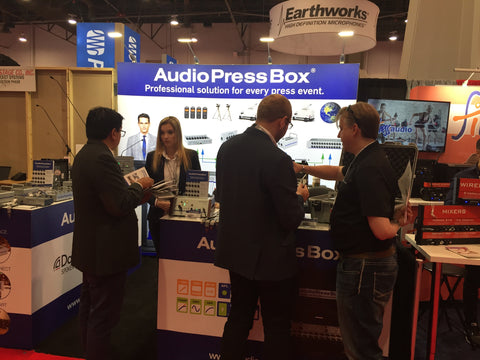 AudioPressBox_booth1_at_InfoComm2018