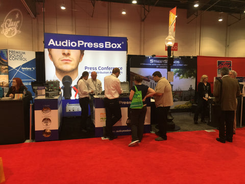 AudioPressBox at InfoComm 2016 pic 2