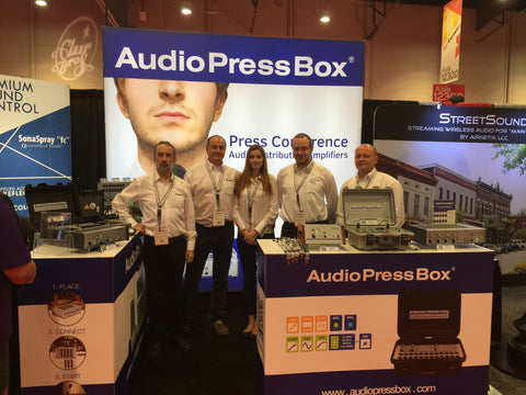 AudioPressBox at InfoComm 2016 pic 1
