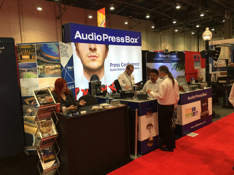 AudioPressBox at InfoComm 2016