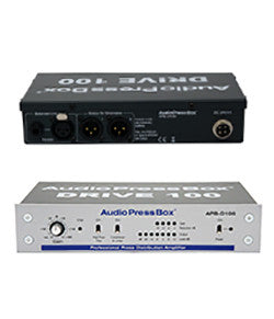 AudioPressBox-D100, Mic and amp set