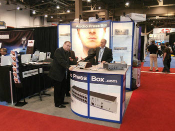 AudioPressBox InfoComm 2012
