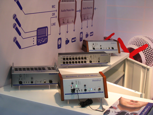AudioPressBox at ISE 2012