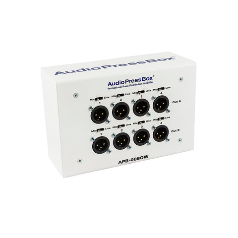Press Box APB-008 OW-EX, Passive, Fixed installation, Expander, 8 Line/MIC outputs