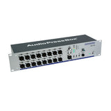 AudioPressBox APB-116 R, Active, Fixed installation, Audio Splitter, 1 Line/MIC input, 16 Line/MIC outputs