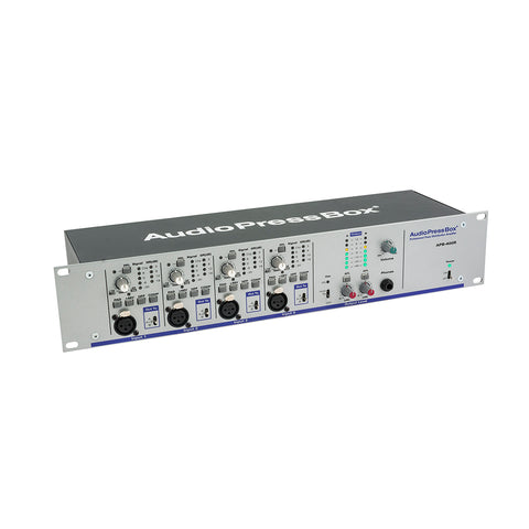AudioPressBox APB-400 R, Active, Fixed installaion, Audio Splitter, 4 Line/MIC inputs, 4 Line/MIC outputs