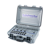 AudioPressBox APB-416 C, Active, Portable, Audio Splitter, 4 Line/MIC inputs, 16 Line/MIC outputs