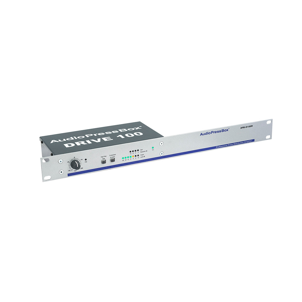 APB-D100 R - rack drive unit, 1 In/2 buffered Outs