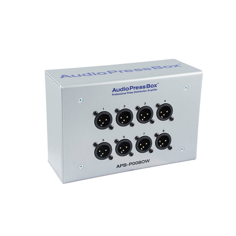 AudioPressBox APB-P008 OW-EX, Passive, Fixed installation, Expander, 1 Line input, 8 MIC outputs