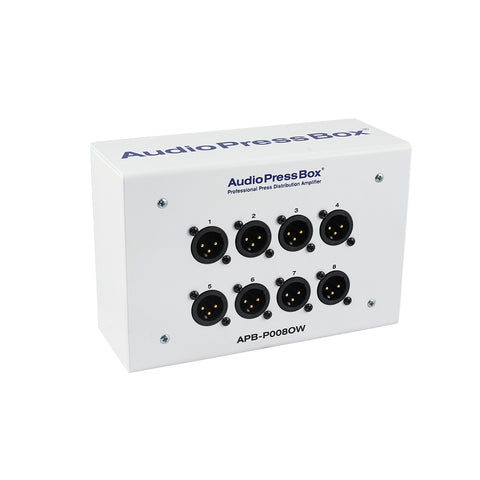 Mult Box APB-P008 OW-EX, Passive, Fixed installation, Expander, 1 Line input, 8 MIC outputs