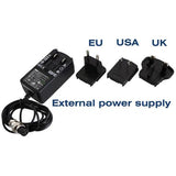 AudioPressBox Chargers, External Power Supply