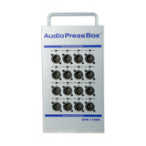 Press Box APB-116 SB, Active, Portable, Audio Splitter, 1 Line input, 16 Line/MIC outputs