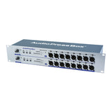 Mult Box APB-D216 R-D, Active, Fixed installation, Audio Splitter, 2 Line/Dante inputs, 16 Line/MIC outputs