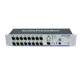 Press Box APB-116 R, Active, Fixed installation, Audio Splitter, 1 Line/MIC input, 16 Line/MIC outputs