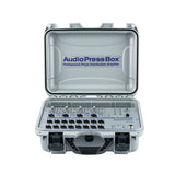 Press Box APB-416 C, Active, Portable, Audio Splitter, 4 Line/MIC inputs, 16 Line/MIC outputs