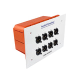 Press Box APB-P008 IW-EX, Passive, Fixed installation, Expander, 1 Line input, 8 MIC outputs