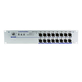 Mult Box APB-D116 R-D, Active Fixed installation, Audio Splitter, 1 Line/Dante, 16 Line/MIC outputs