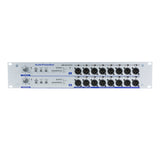 Pressesplitter APB-D216 R-D, Active, Fixed installation, Audio Splitter, 2 Line/Dante inputs, 16 Line/MIC outputs