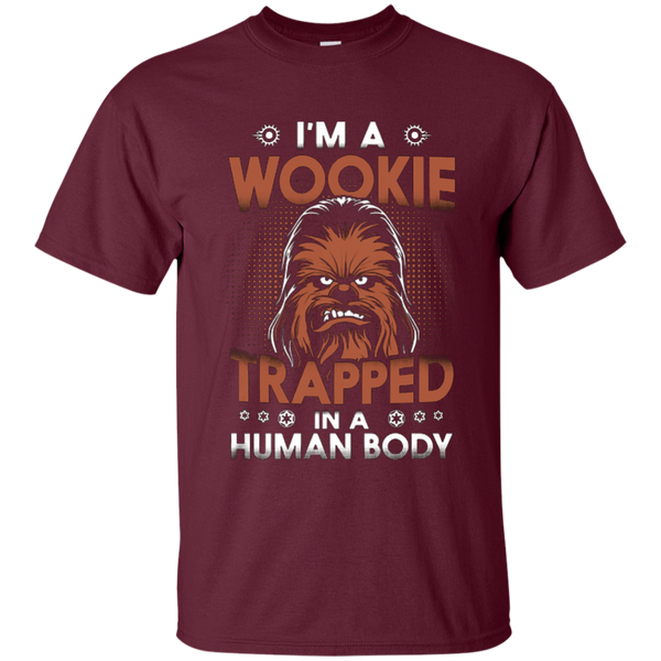 Wookie Trapped In a human body - Star wars