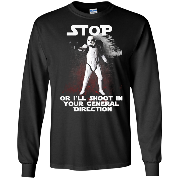 I'll shoot in your general direction - Star wars