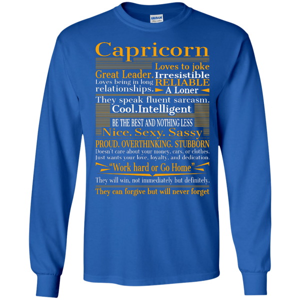 Capricorn - Zodiac Clothing