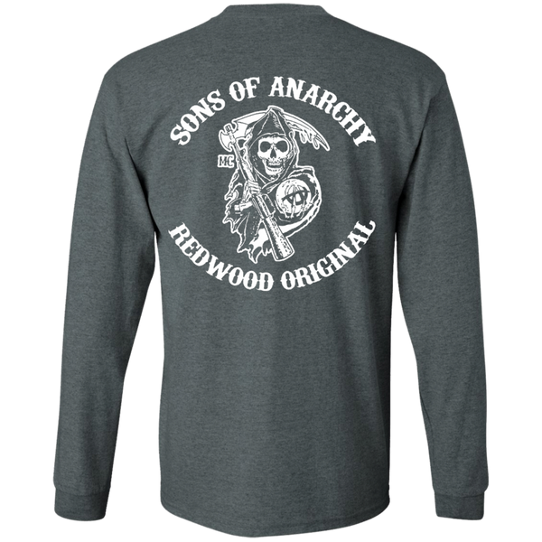 Sons of anarchy - Back design