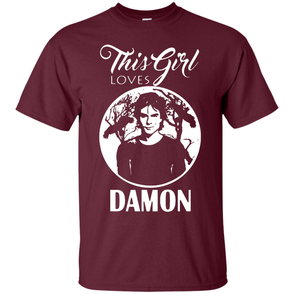 This girl loves Damon - TVD Clothing