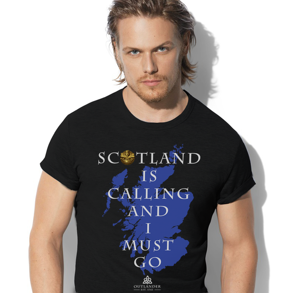 I'll go to Scotland - Outlander shirts