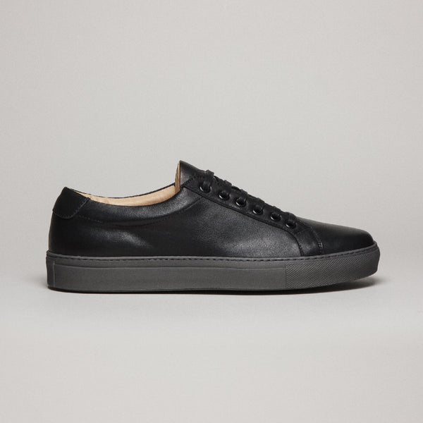 COURT LEATHER BLACK