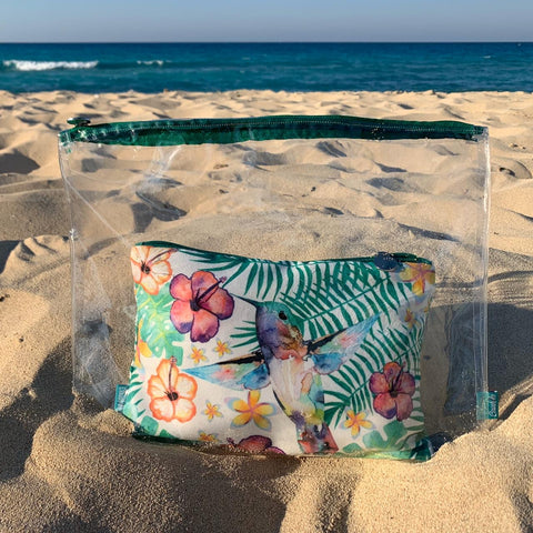 Hummingbird Beach Pouch