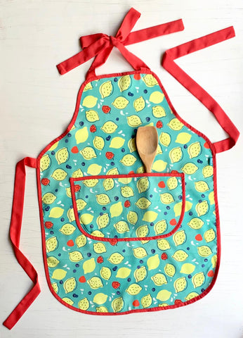 Raspberry Lemonade Apron