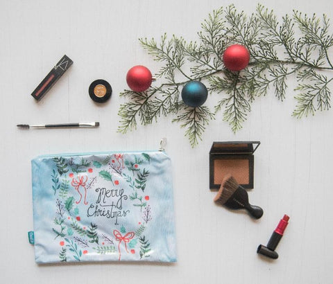 Christmas Makeup Pouch