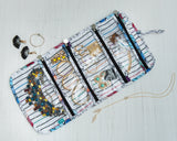 Floral Doodles Jewellery Organizer