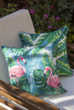 Tropical Leaves Cushion Cover