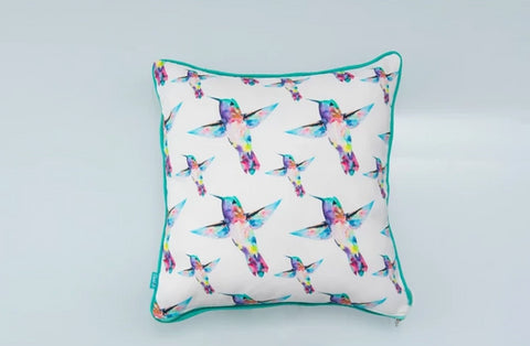 Bird Pattern Cushion