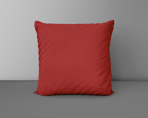 Rich Red Cushion