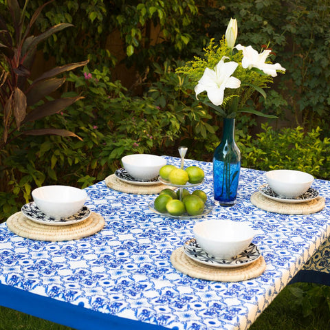 Blue Grotto Tablecloth