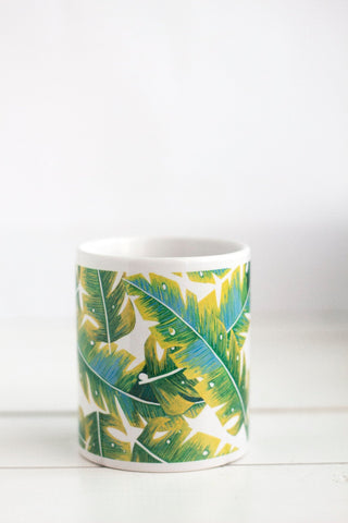 Banana Leaves Mug
