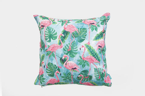 Flamingo Gang Cushion Cover