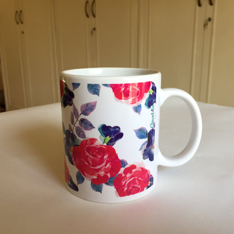 Coushies Floral Mugs