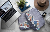 Hexagons Laptop Sleeve