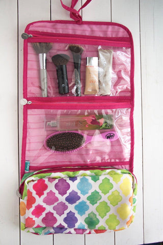Lattice Folding Cosmetics Organizer