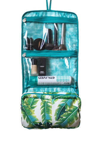 Leaves Folding Cosmetics Organizer